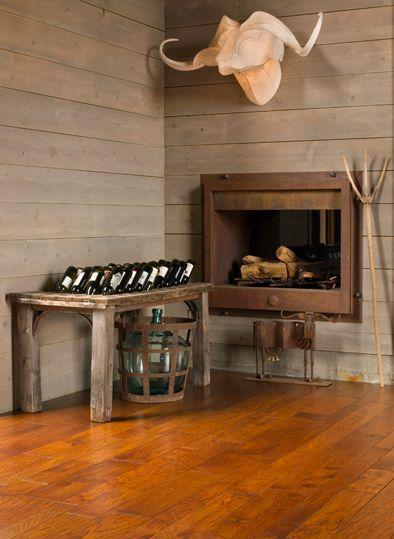 Bella Cera Artisan Hand Carved Engineered Hardwood
