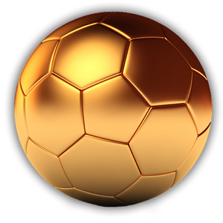 Golden Ball Png Bola Kaki Greyhound Beri
