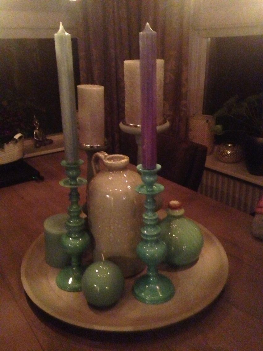 Super mooie set voor op tafel...! Binnenkort te bestellen op www.woon-droom.nl