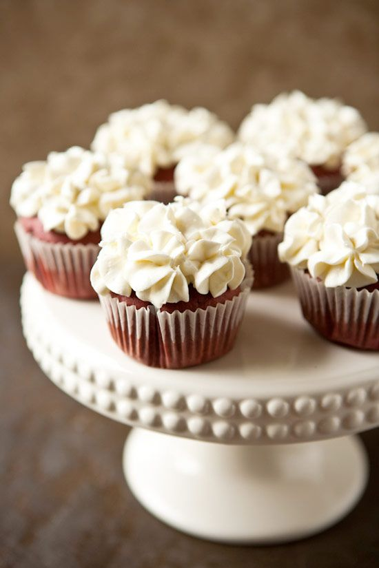 Red Velvet Cupcakes with Cream Cheese COOL WHIP Frosting ...