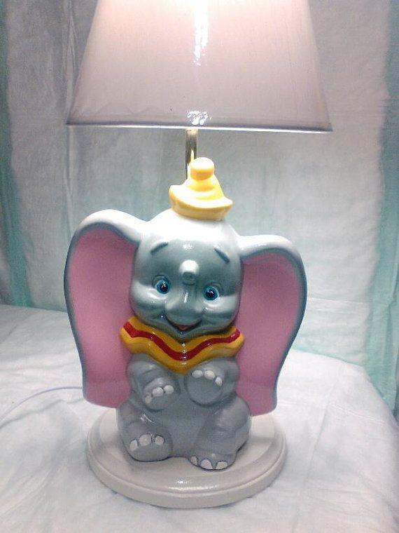 Lamp Dumbo By Justforyouceramics On Etsy Dumbo Bebe Et