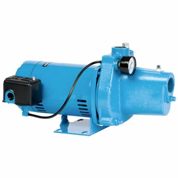 Shallow Well Jet Pump W Pressure Switch 1 2hp 115 230v Cast Iron Shallow Well Jet Pump Jet Pump Shallow Wells