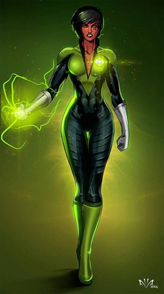 Soranik Natu From Green Lantern Corps  Lantern Corps -6927