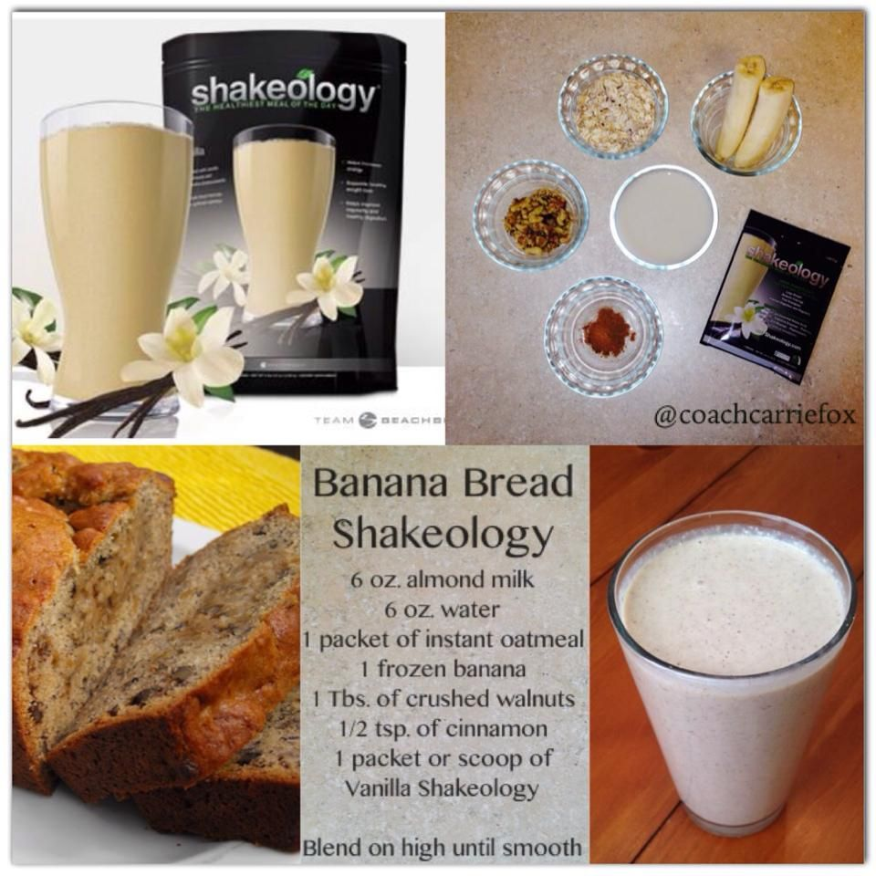 Vanilla shakeology banana bread recipe sounds delicious vanilla shakeology banana bread recipe sounds delicious beachbody shakeologyreal food forumfinder Image collections