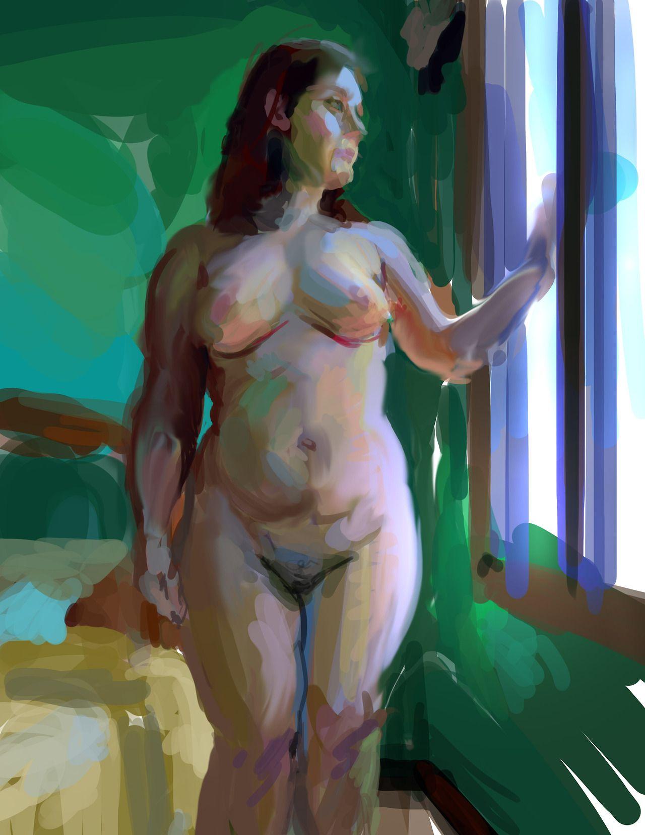 Carol Ann Duffy Standing Female Nude 28