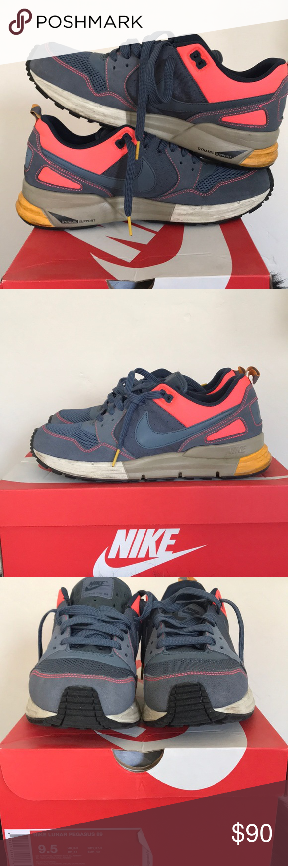 281f5ebcfe255 ... germany nike lunar pegasus 89 sneakers used good condition nike lunar  pegasus 89. featuring a