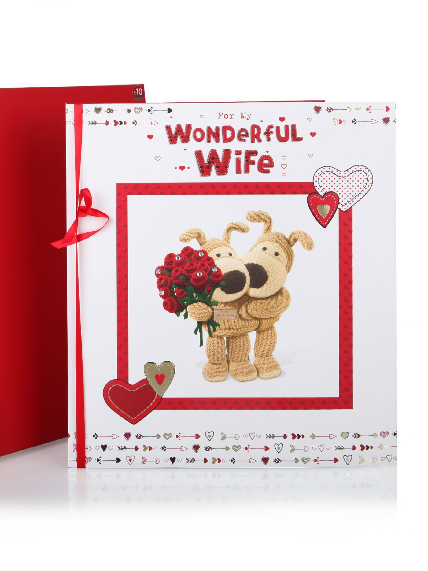 Boofle For My Wonderful Wife Valentines Day Card Cards – Wife Valentines Day Card