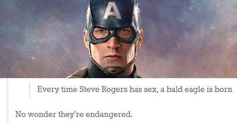 14 Times Tumblr Picked Captain America's Side | Smiles and