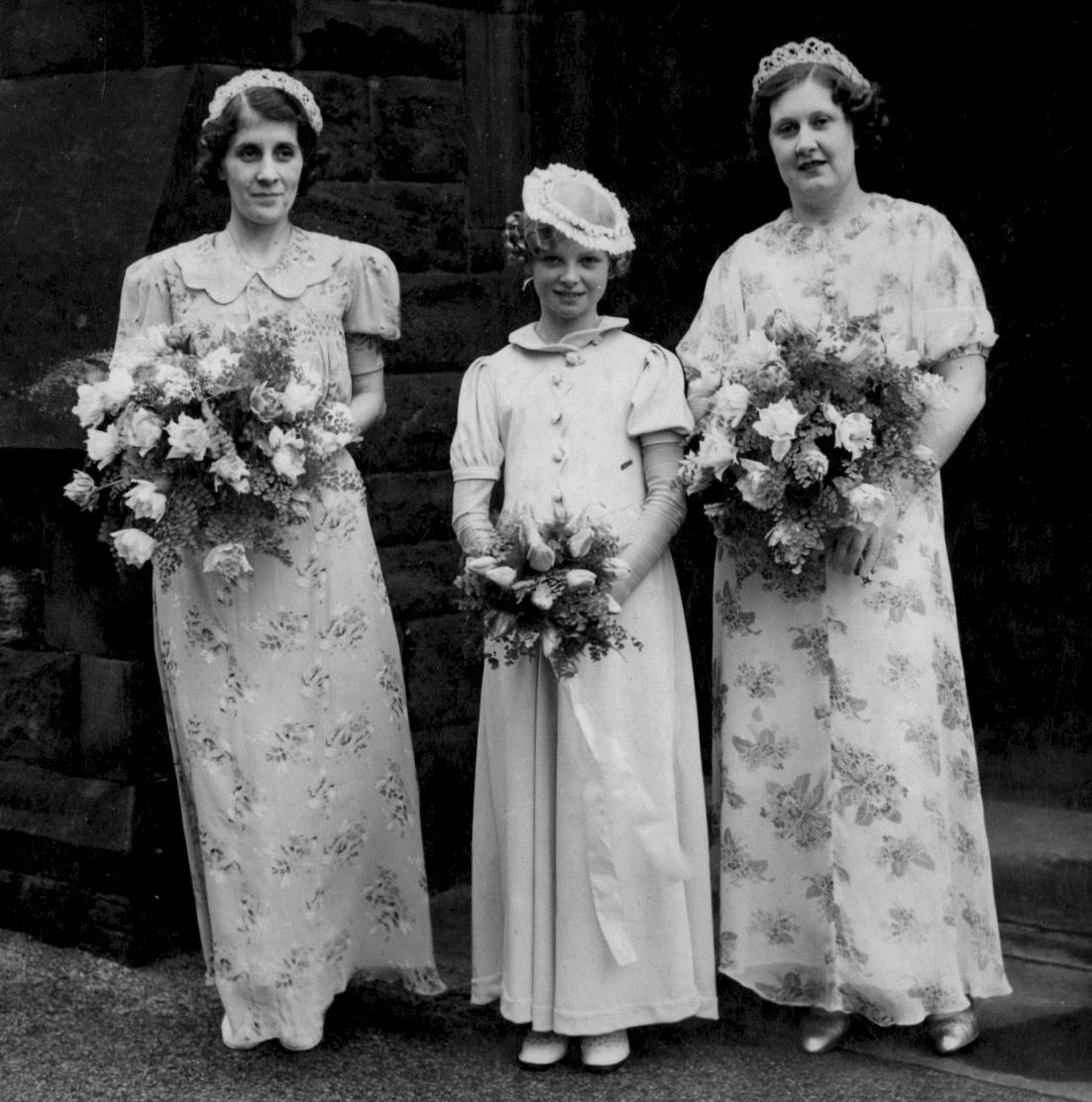 Pin On 1930s Wedding Dresses