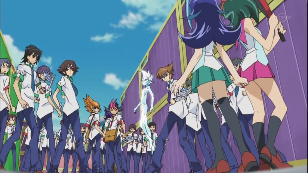 Yugioh Zexal Rio And Tori Come To Aid Yuma And His Friends ... Yugioh Zexal Tori And Rio