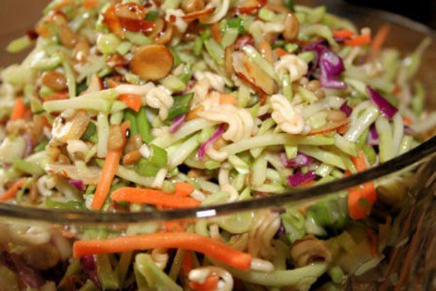 Food Recipe Oriental Ramen Broccoli Coleslaw