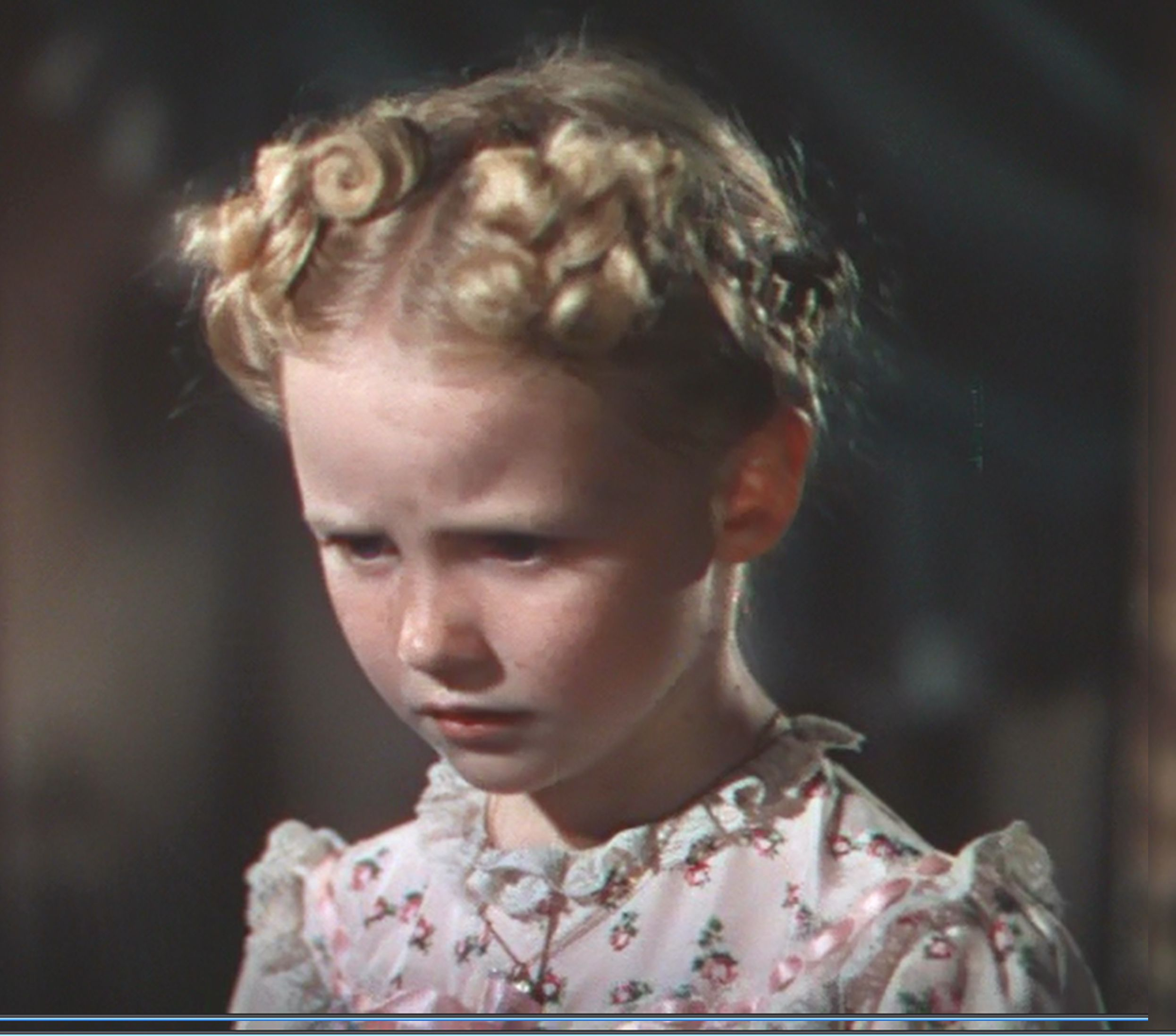 Screen Capture Of Karolyn Zuzu Grimes In The Film Blue Skies Film Blue Its A Wonderful Life Grimes