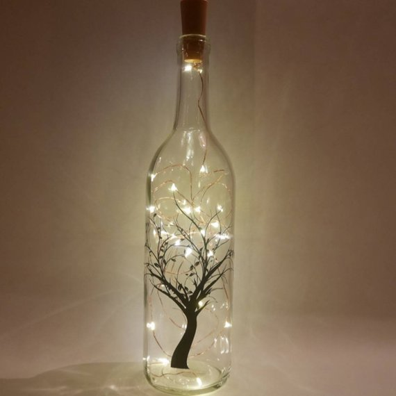 Bedroom Fairy Lights Wine Bottle Light Fairy String