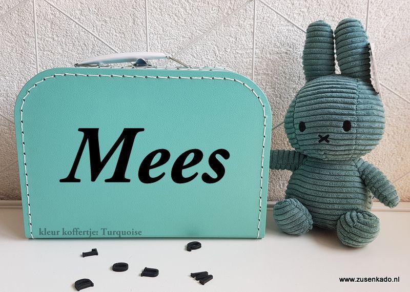 Mooi Nijntje Babykamer : Koffertje met naam in een mooie kleur combineer met de groene