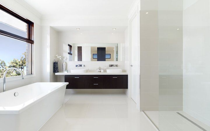 Lindrum PW Bathroom, New Home Designs   Metricon