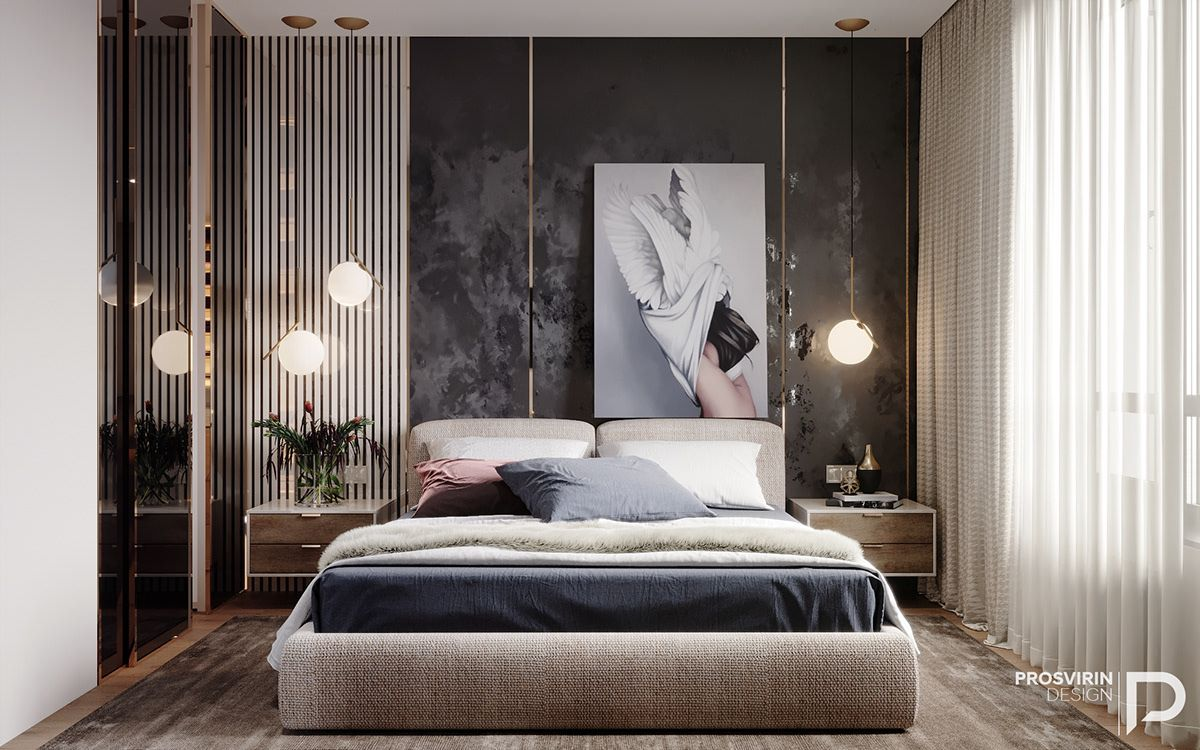Gloss On Behance Luxury Bedroom Master Modern Master Bedroom