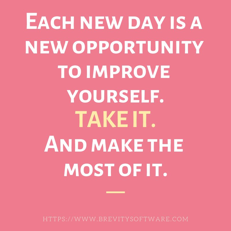 Each New Day Is A New Opportunity To Improve Yourself: It's #Monday Again!! Start Of A New Week And New