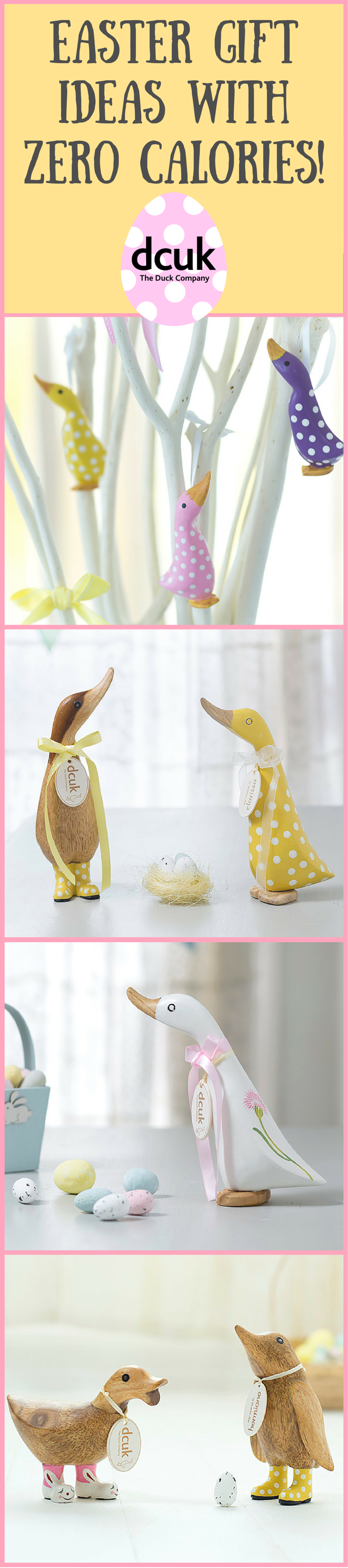 Easter gift ideas with zero calories this easter why not give a easter gift ideas with zero calories this easter why not give a gift that will last far longer than a chocolate egg our range of ducks and penguins make negle Image collections