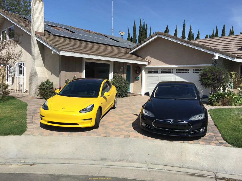 Yellow Tesla Model 3 that rocked 'reddit' now with tinted