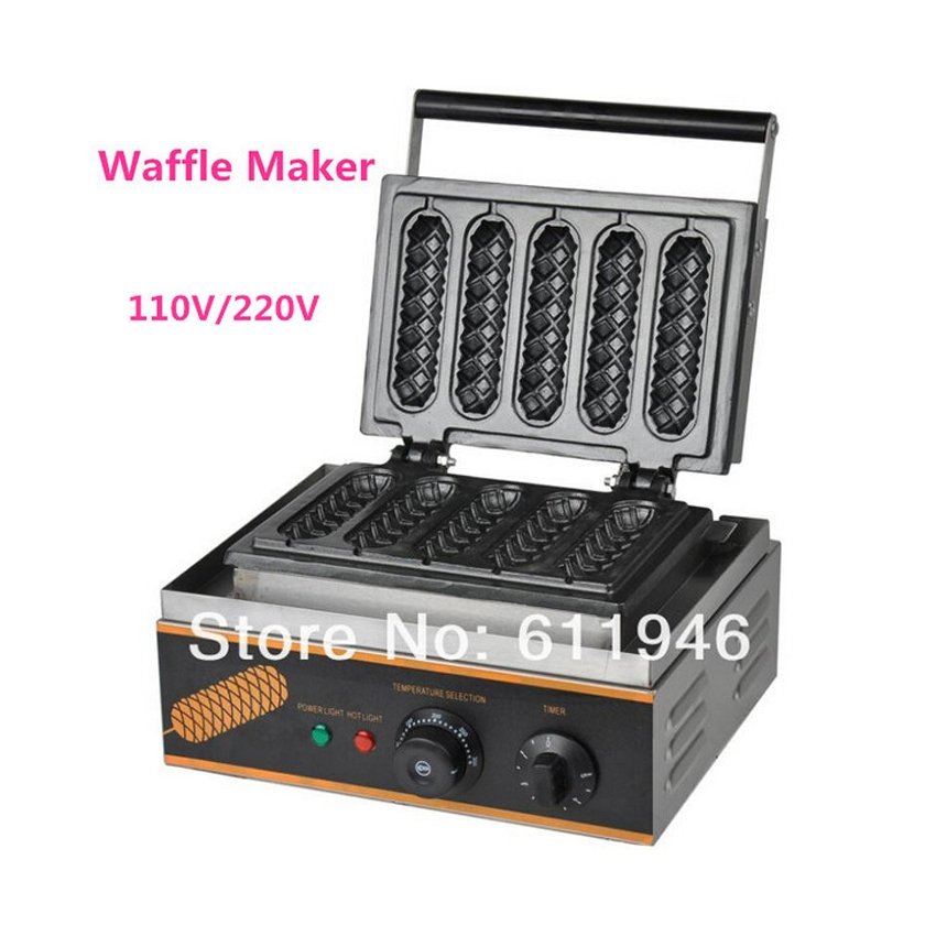 929.50$  Watch here - http://alif8q.worldwells.pw/go.php?t=32262662142 -  10 pcs/lot Hot Sale 110V/220V Commercial Use Electric Lolly Waffle Maker Machine