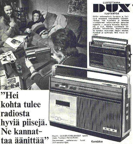 Dux-mainos, 60-luku