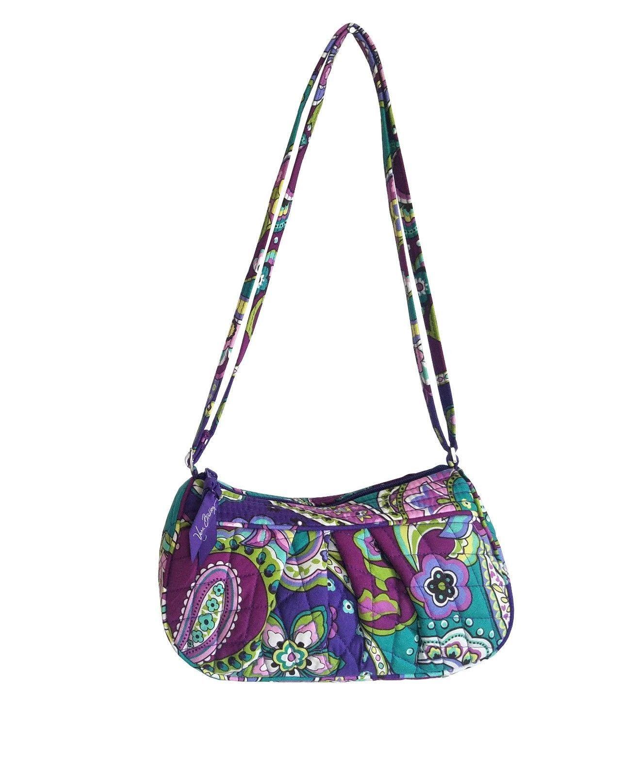fa7f6d3bd7 Vera Bradley Frannie Crossbody Bag  Resale  Heather Pattern Shoulder Bag   stellasaksa
