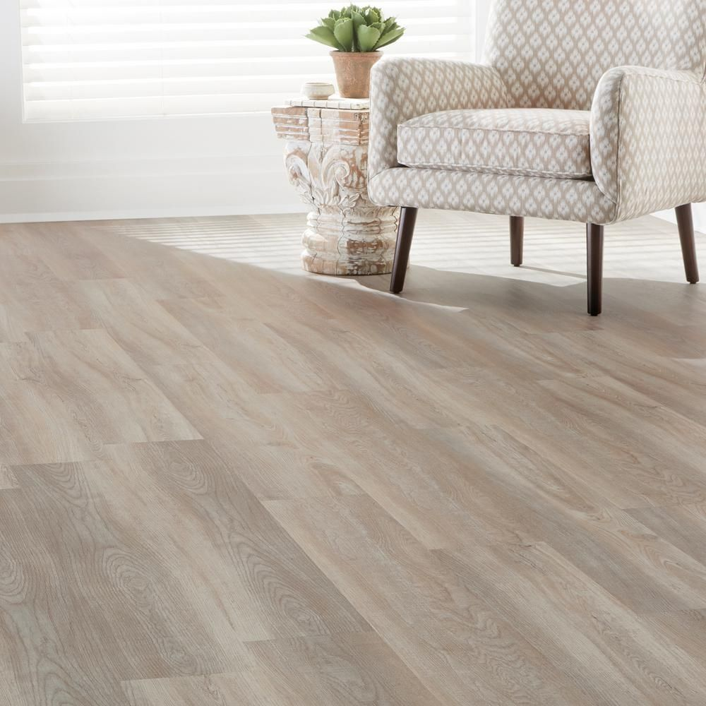 Crystal Oak Luxury Vinyl Plank Flooring (24.74 Sq. Ft. / Case)