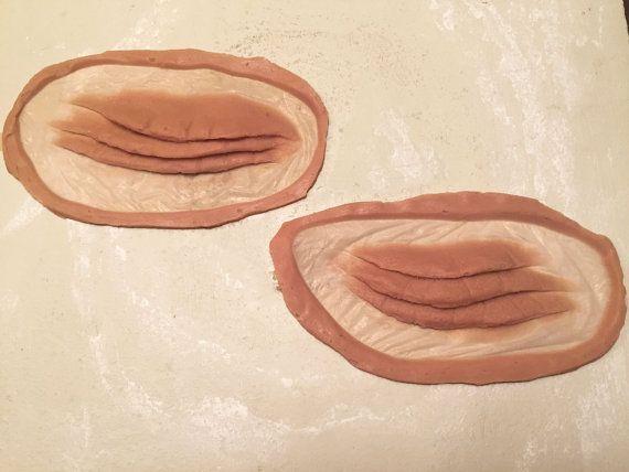 Mermaid/Fish Gill Gelatin Prosthetics, Silicone Upon Request