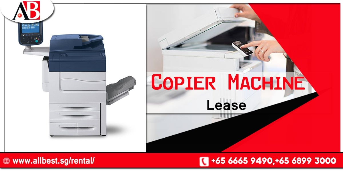 The One Stop Solution For Copier Machine Lease Is All Best