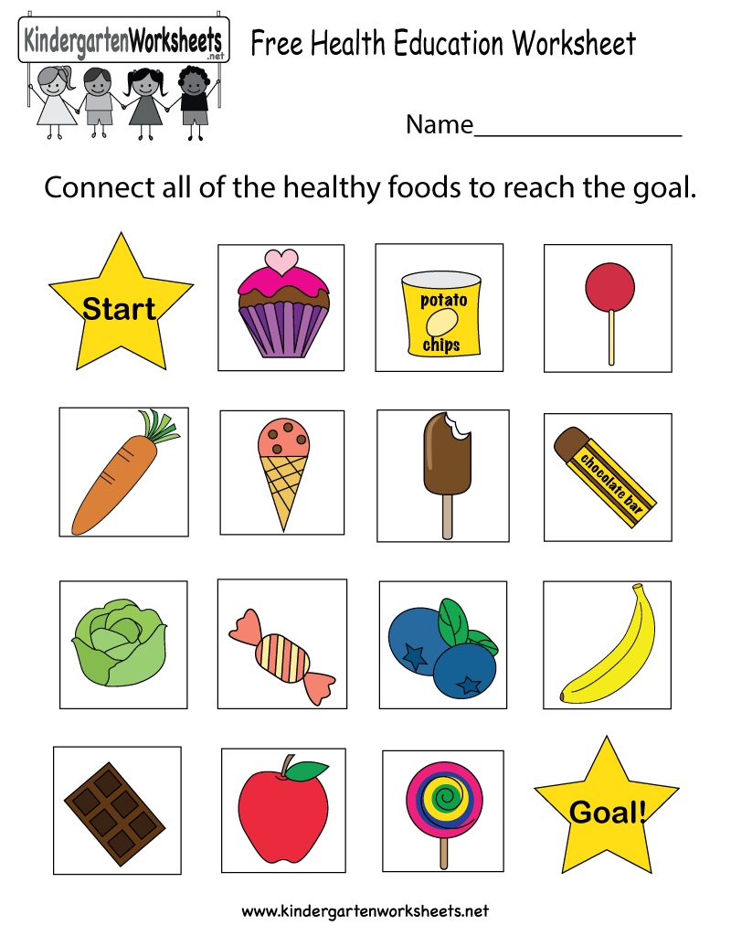 Worksheets Eating Healthy Worksheets its never too early to teach kids about eating healthy this health education worksheet free kindergarten learning for kids