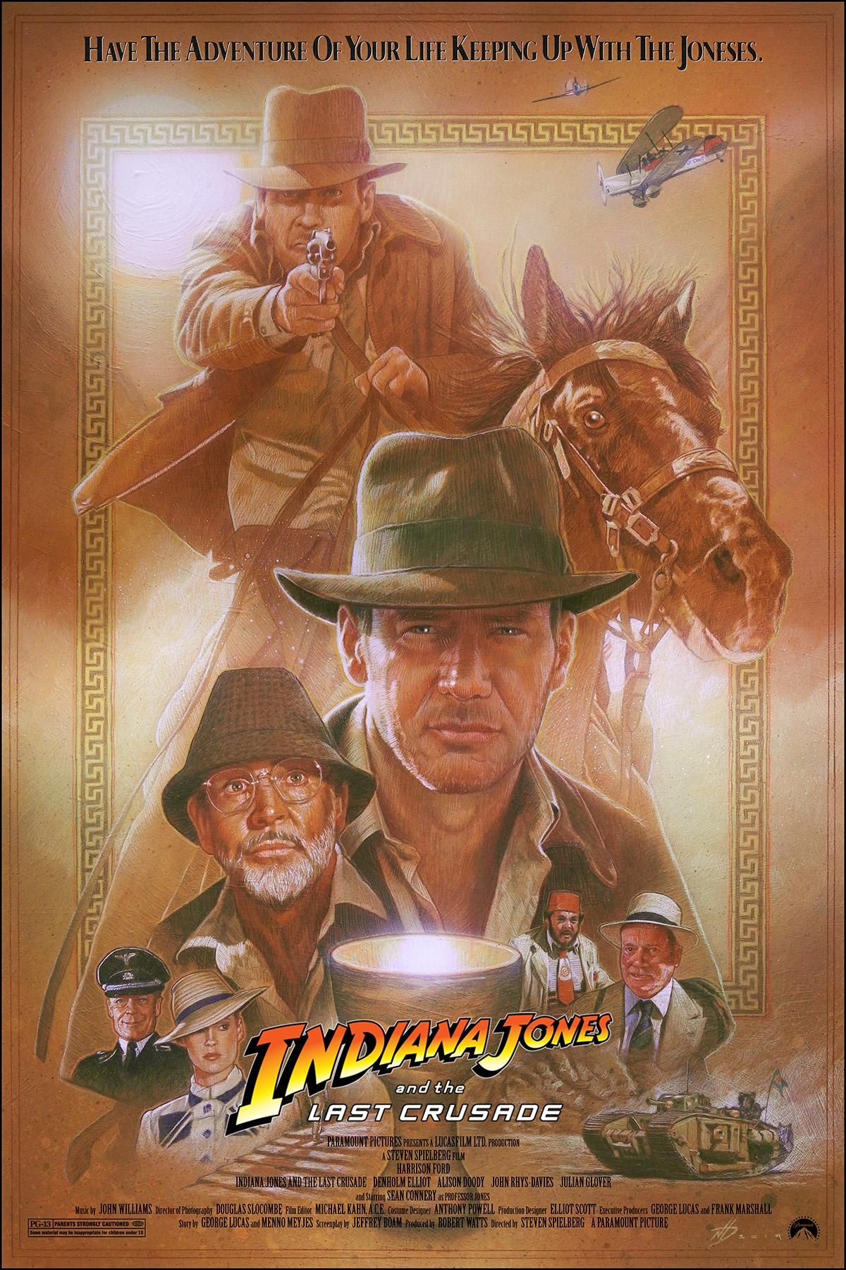 Indiana Jones and the Last Crusade (1989) [1200 x 1800