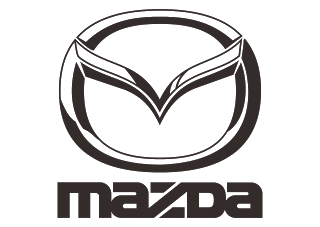 Mazda Logo Vector (Part-2) Black-White (Automaker company