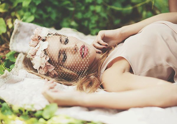 @Cherubina hats & headpieces Ophelia