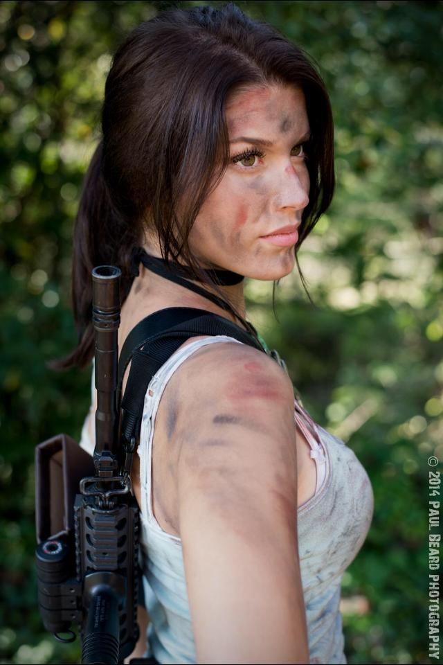 Aha! You found us! // queens-of-cosplay: Lara Croft
