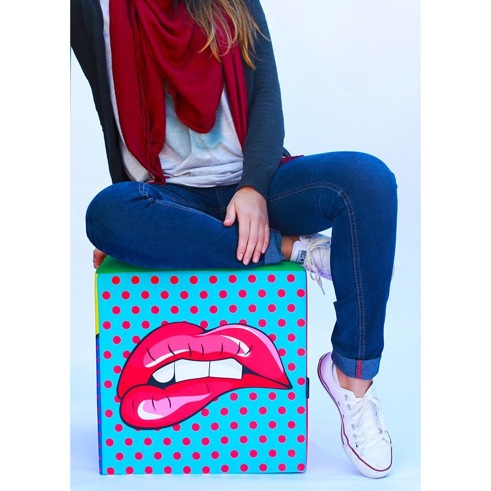 Puff Pop Art - R$198,00