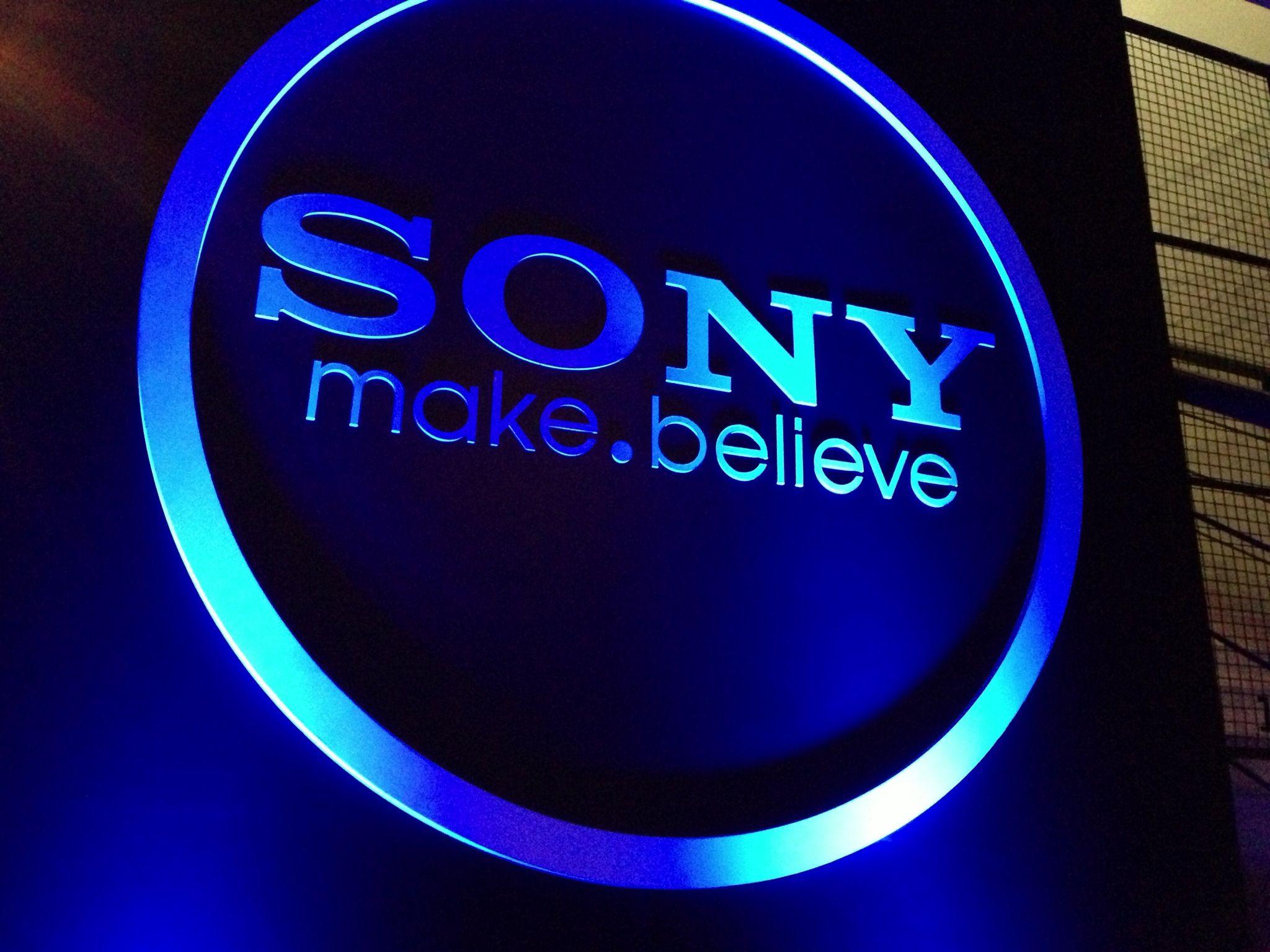sony makebelieve logo sony pinterest sony and