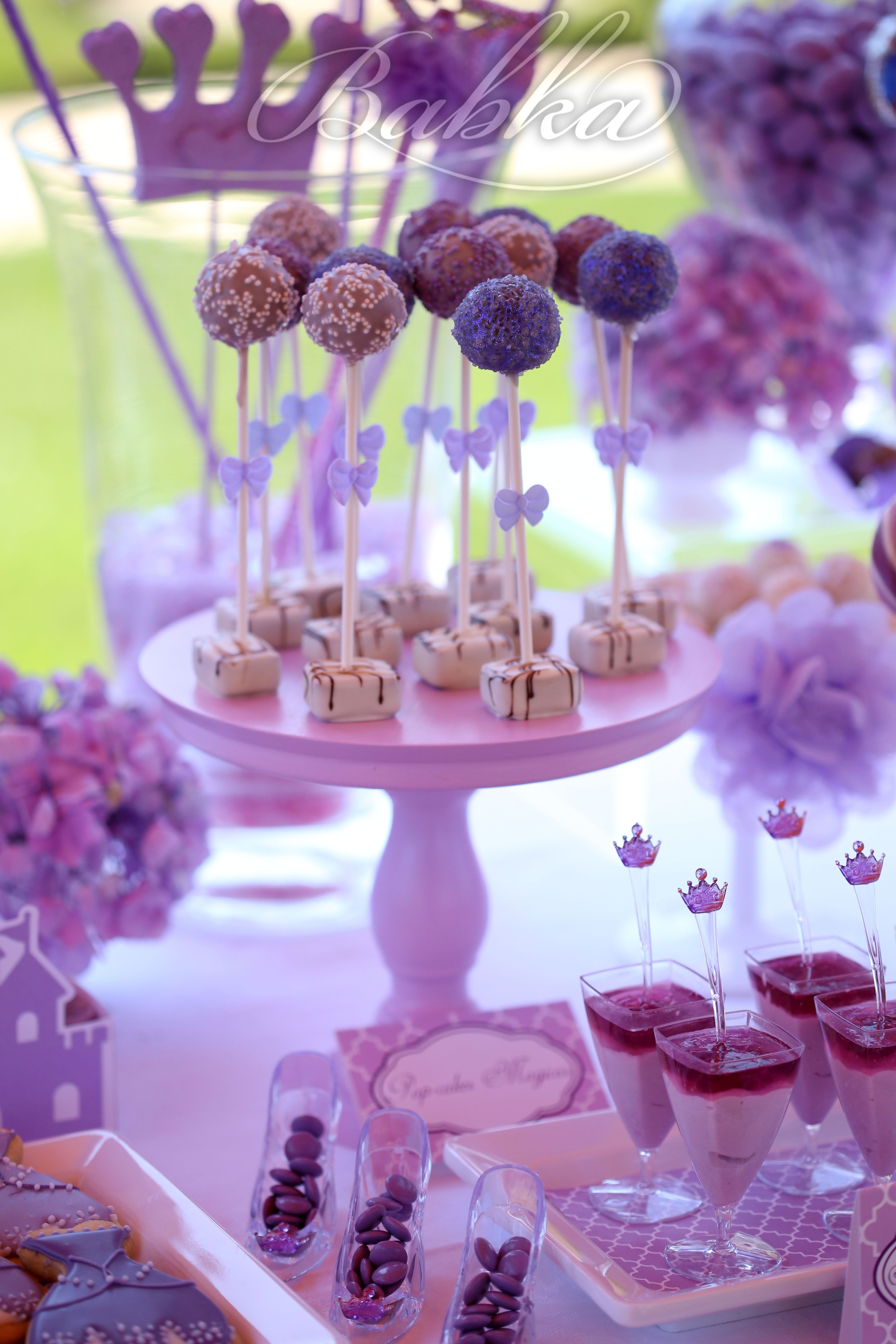 Princess Sofia Party Decor