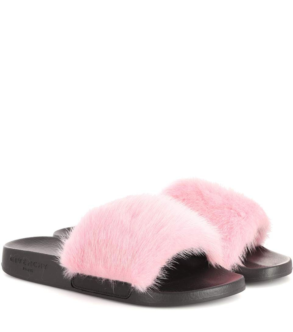 Givenchy Fur flat shoes vP9l0IqyrP