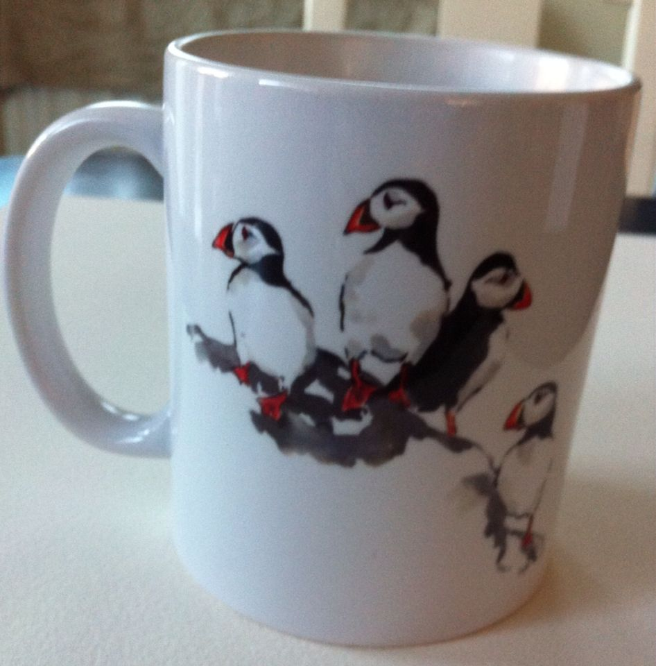 Puffin mugs £7.50