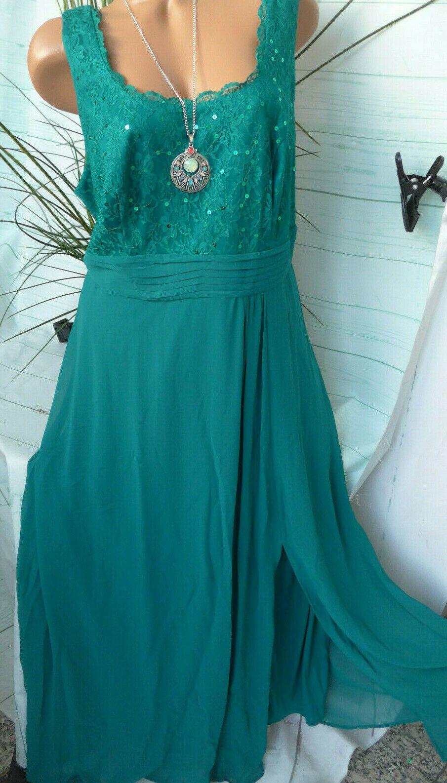 sheego eventkleid abendkleid long kleid maxikleid damen gr