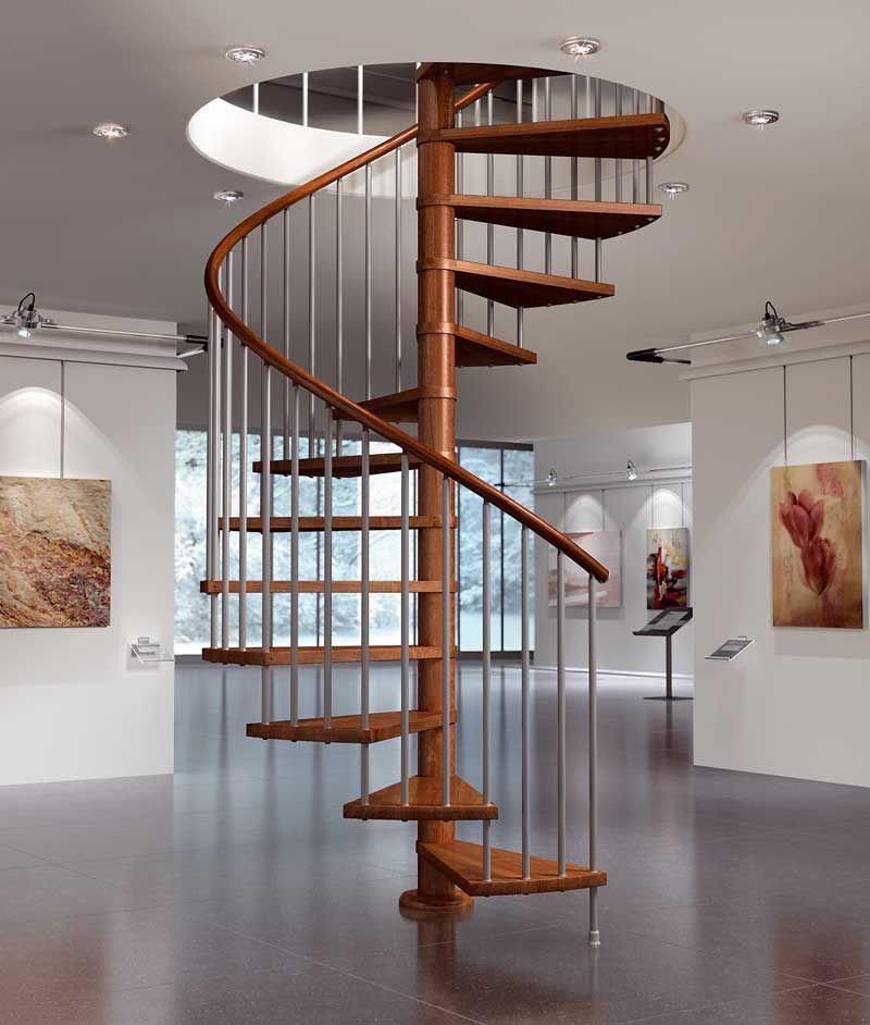 Escaleras de interior economicas - Escaleras de caracol economicas ...