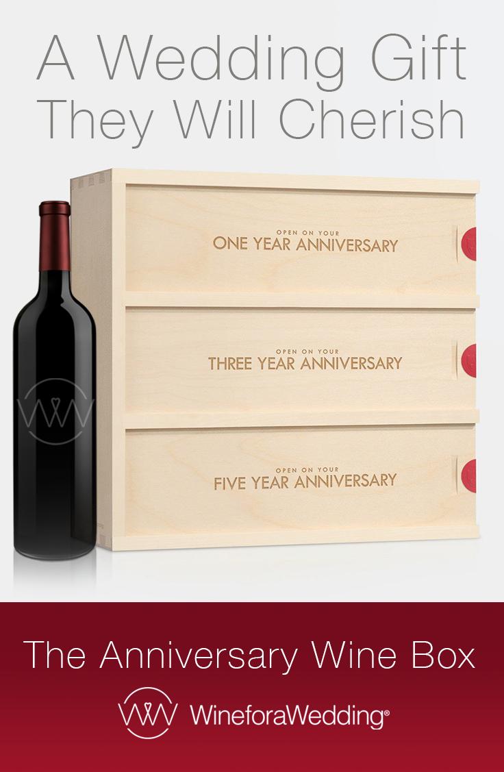 Classic Trio - Anniversary Wine Box | Unique wedding gifts, Unique ...