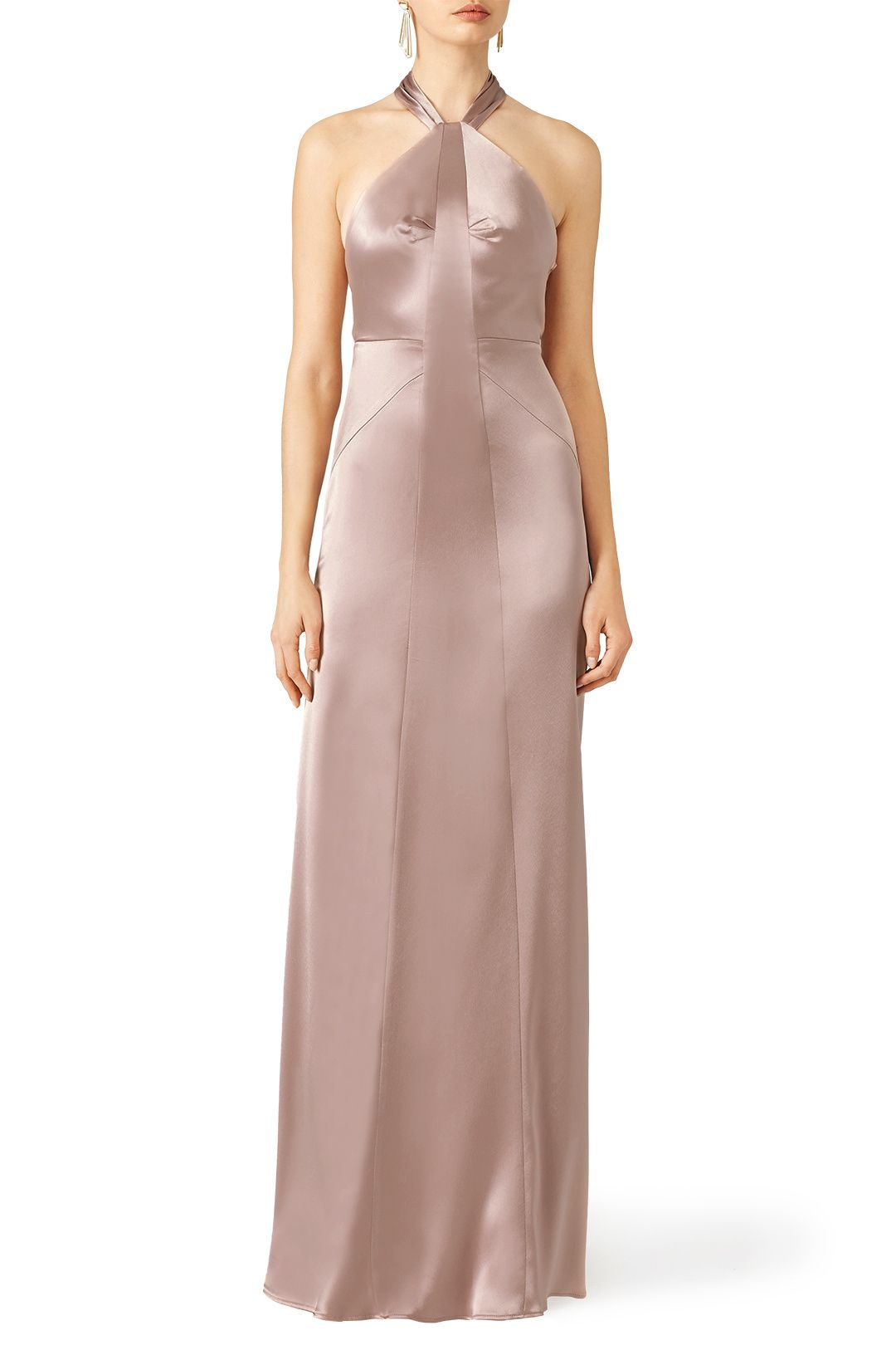 Rent Blush Serena Gown by Jill Jill Stuart for $90 only at Rent the ...