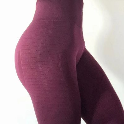 4e5d8524a9 Women's butt lift sport leggings hollow out fitness gym leggings seamless  slim compression squat tights high waist yoga pants