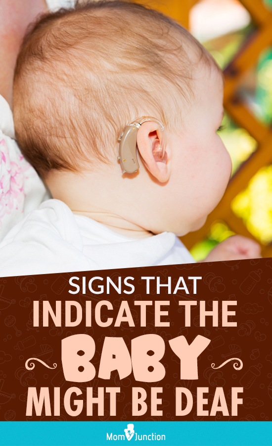 10 Signs That Indicate The Baby Might Be Deaf in 2020 ...