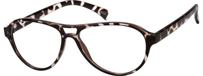 4f1ee451d0a Black Sleek Aviator Eyeglasses   236025