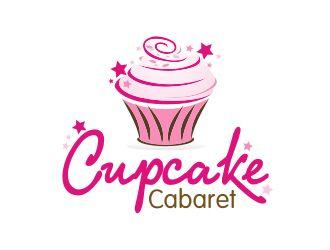 cupcake cabaret logo design winner party cupcake logo