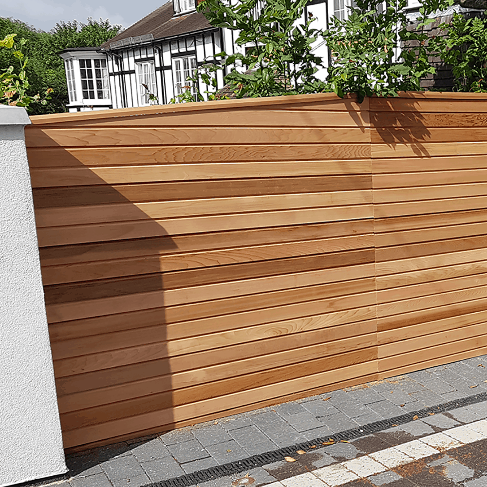 Cequence Slatted Cedar Fence Panel Privacy Panel Cedar Cequence Fence Panel Privacy Slatted Fence Panels Cedar Fence Slatted Fence Panels