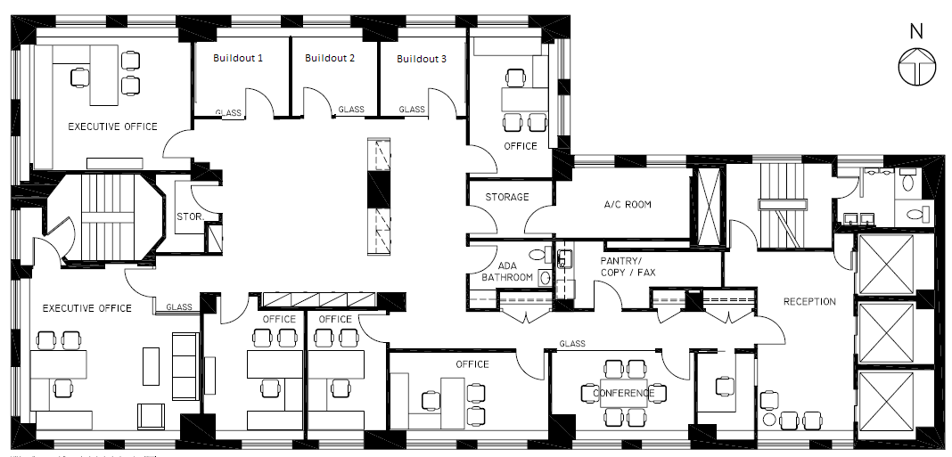 Law Office Floor Plan: Chrysler Building Floor Plan