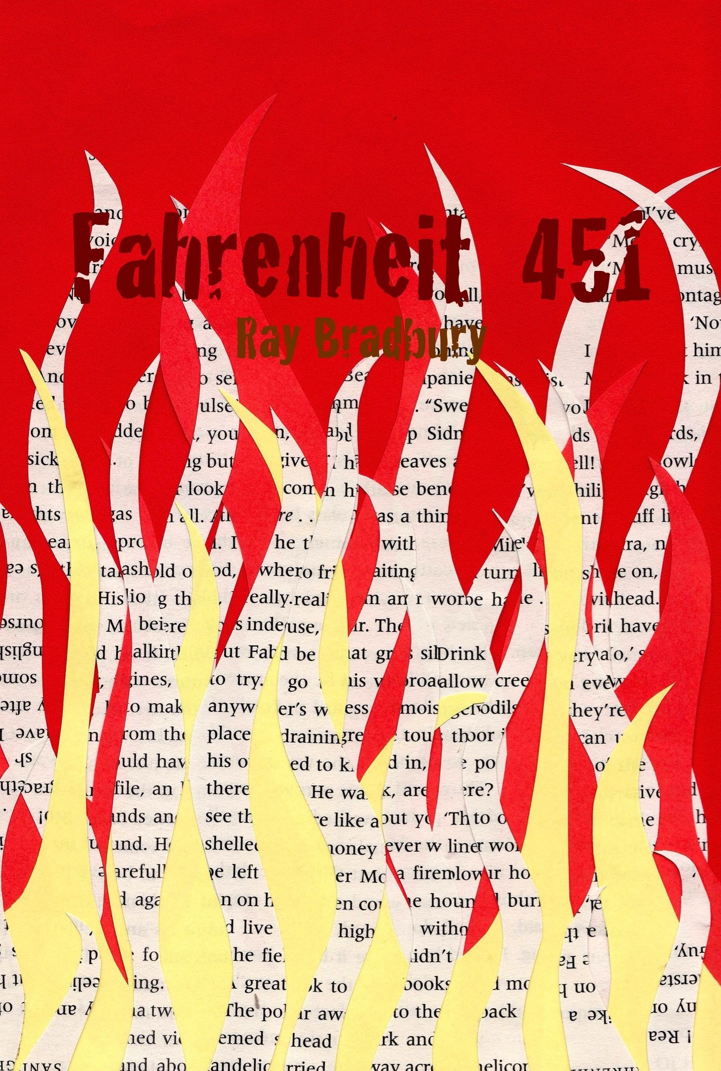 book report fahrenheit 451 Ray bradbury's classic envisages a dystopian future in which the job of firemen is to seek out books and burn them in this edition, introduced by michael moorcock, sam weber's astonishing illustrations perfectly capture the novel's haunting atmosphere it was a pleasure to burn it was a special.